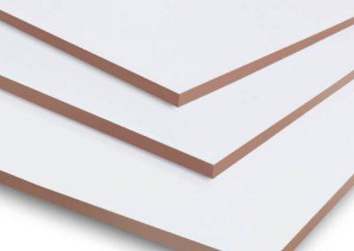 White Hardboard