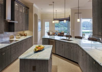 novolam aged stone kitchen