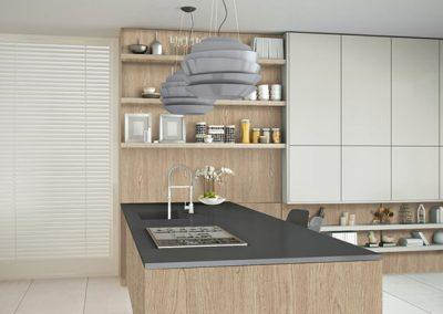 novolam terra nova new kitchen